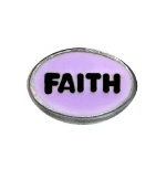 Faith - Enamel Charm